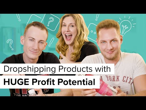 Dropshipping Products with HUGE Profit Potential - Oberlo Dropshipping with Alexander and Andreas