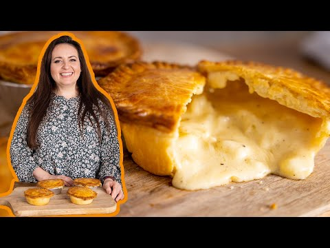 How to make a chip shop style Cheese and Onion Pie   A British Classic!