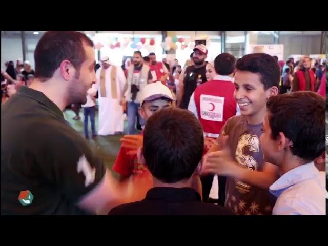اليوم الثاني من حفل مشروع قرقيعانك أجر في ولاية اورفا التركية