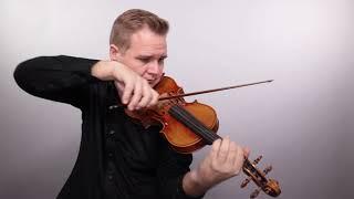 Holstein Workshop Stradivarius Violin 2020 (No. 132)
