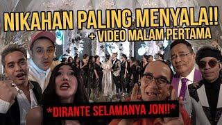 VIDEO MALAM PERTAMA, AKHIRNYA SAH JON!! | Wedding Day BTS