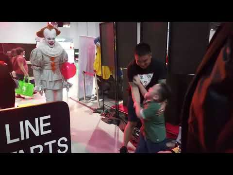 "Pennywise made ""Asia Pop Comic Con"" memorable for children"