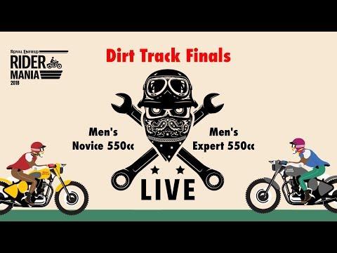 Dirt Track: Men's 550CC - Day 2 - Rider Mania 2018