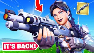New *TAC SHOTGUN* UPDATE in Fortnite! (It's BACK)