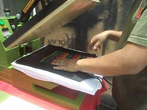 Plancha transfer estampado foil multicolor youtube - Papel de transferencia para plancha ...