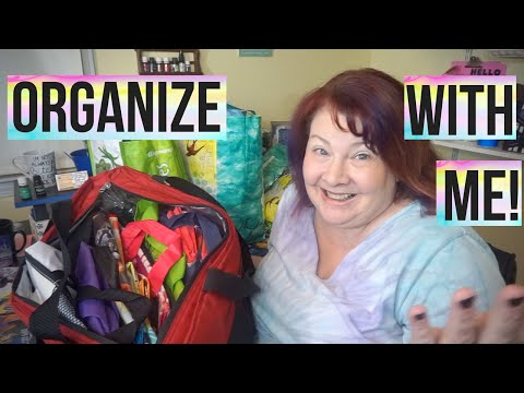 Organize With Me   I am Addicted To Bags and Totes!!