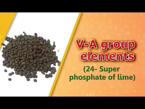 V-A group elemnts(24- Super phosphate of lime)