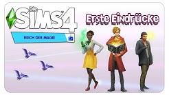 Die Sims 4: Reich der Magie - Erste Eindrücke [CAS, Möbel, Magie & more]