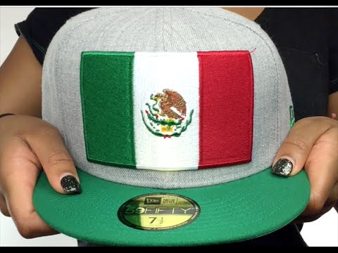 Mexico  HEATHER GRAND  Grey-Green Fitted Hat by New Era - YouTube aff417239c0