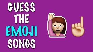 EMOJI CHALLENGE ★ Guess the Pop Songs