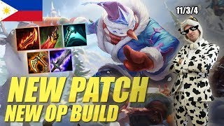NEW OP MASTER YI BUILD! PHILIPPINES SERVER COULDN'T HANDLE IT!