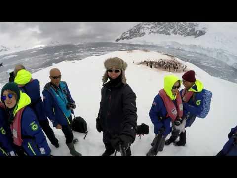 Neko harbor Antarctica Mainland ,  Hurtigruten MS Fram