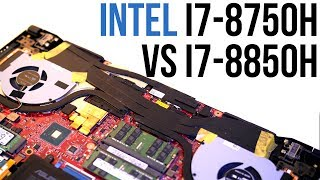 Intel i7-8750H vs i7-8850H - Laptop CPU Comparison and Benchmarks