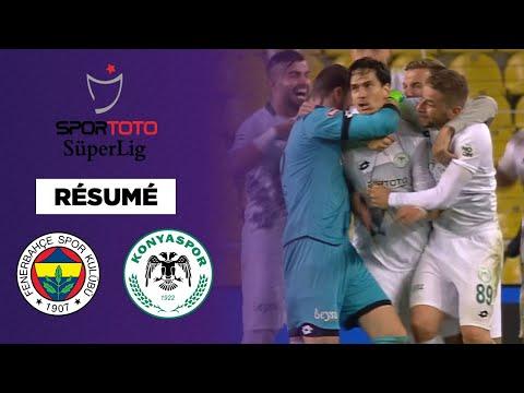Résumé : Konyaspor surprend le Fenerbahce