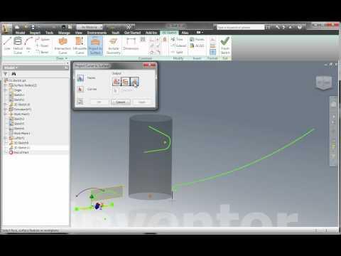 Autodesk Inventor 2012 Advance Sketches Amp Part Featur