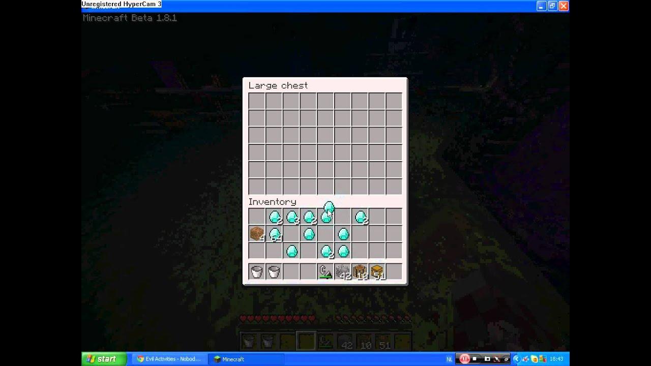 Minecraft hoe maak je een item verdubbelaar 1 8 1 youtube - Hoe maak je een woonkamer ...