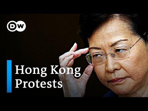 China amplifies threats against Hong Kong protesters   DW News