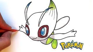 DESSIN CELEBI (Pokémon)