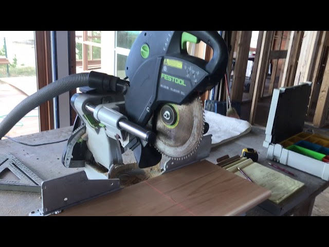 Seven years with the Festool kapex