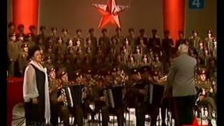 видео: Coro dell'Armata Rossa (Поклонимсявеликимтемгодом)