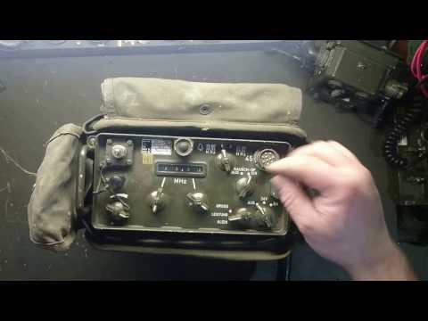 SEM 35 Bundeswehrfunkgerät Manpack Radio Military