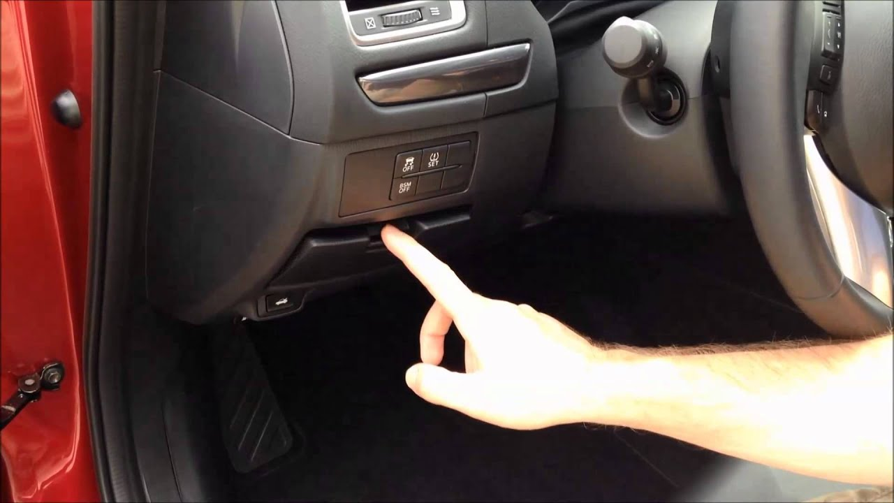Locating Navigation Sd Card In 2014 Mazda6 Youtube