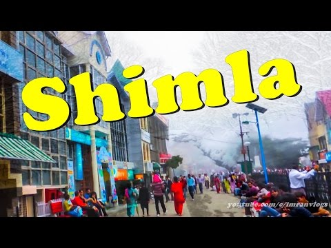 shimla october to january | shimla city tour | Amazing mall road walk |  himachal pradesh, India |