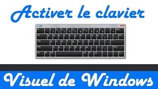 Faire apparaître un clavier virtuel sur Windows