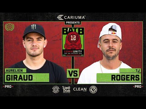 BATB 12: Aurelien Giraud Vs. TJ Rogers - Round 1