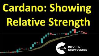 Cardano: Showing Relative Strength