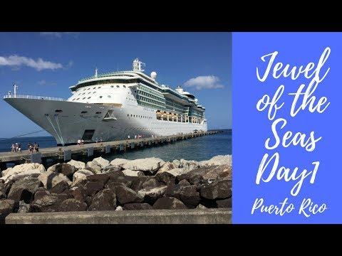 Jewel of the Seas Day 1 San Juan Puerto Rico Southern Caribbean Cruise