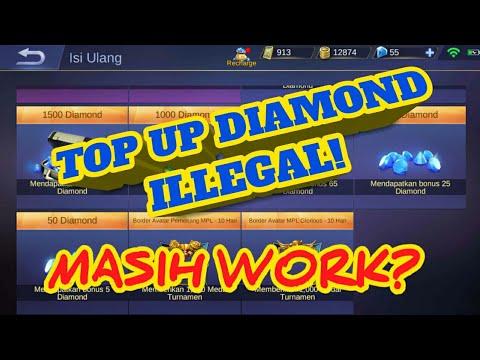 Cara Trik Diamond Ilegal Mobile Legends 2018 Youtube