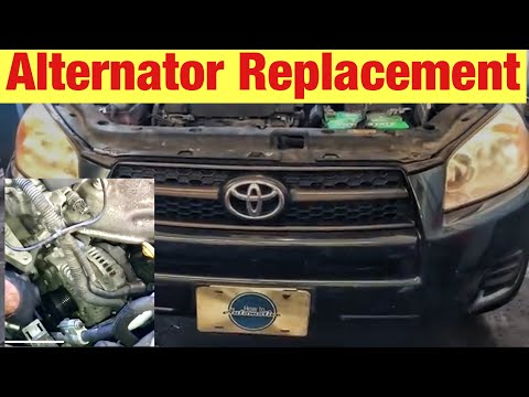 How to Replace the Alternator on a 2005-2012 Toyota RAV4 with 2.4L Engine