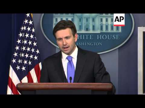 White House briefing on Cuba and cyber security
