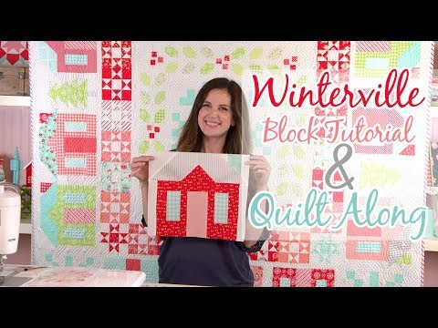 Winterville Block Tutorial with Camille Roskelley of Thimble Blossoms QAL   Fat Quarter Shop
