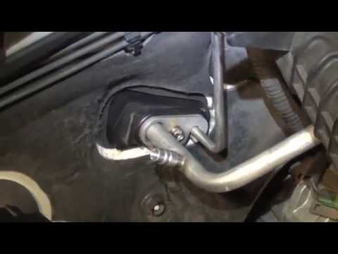 2005 Subaru Legacy A/C Expansion Valve Replacement - YouTube