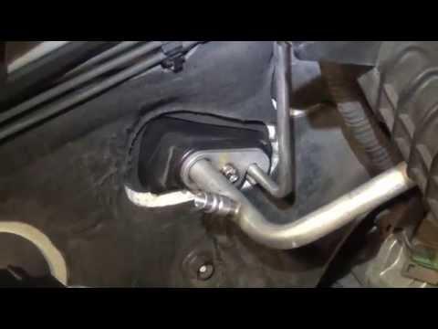 2005 Subaru Legacy AC Expansion Valve Replacement  YouTube