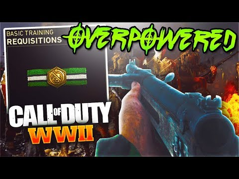 I SHOULDN'T BE SHOWING THIS OVERPOWERED CLASS... (COD WW2)