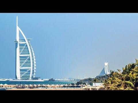 4K – Jumeirah Mosque to Atlantis the Palm Dubai City Road Trip Best places to visit