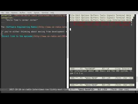 Emacs Archives - The Lone C++ Coder's Blog