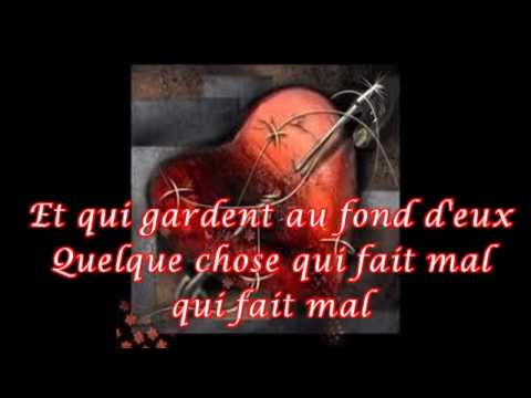 Laam - Je veux chanter pour ceux paroles lyrics karaoke