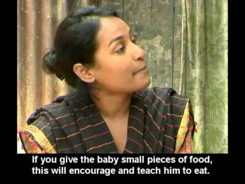 Complementary feeding training video for frontline health workers (Bangla with English subtitles)