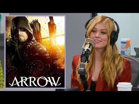 Katherine McNamara Talks Final Season of 'Arrow' + New 'Arrow' Spinoff