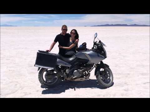 South America on a motorcycle