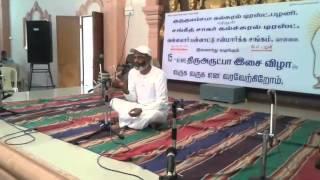 3.5.2015 Sri Lanka Thiru Ketheeswaran speech at Thiru Arutpa Music Concert