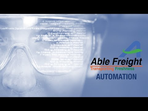 Automation initiatives at Able Freight