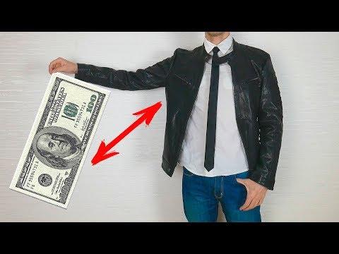 Кожаная куртка с Aliexpress - Китайская лотерея за 100$