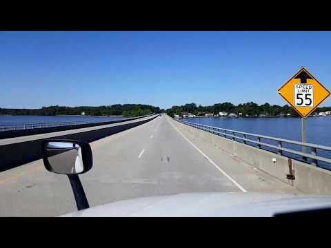 BigRigTravels LIVE! Edenton to Windsor, North Carolina August 1, 2017