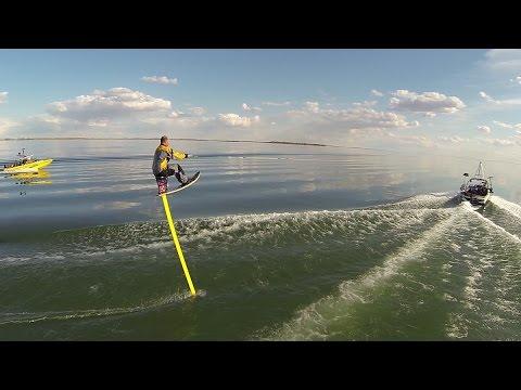 10 Foot Hydrofoil - Lake Newell Ice Breaker 2016