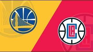 Live Playoffs Warriors vs Clippers w/ Ahouse Reacts! Will the Warriors send Clippers fishing?